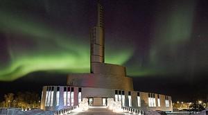 Nordlichtkathedrale in Alta