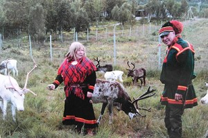 Rentierfarm Inga Sami Siida